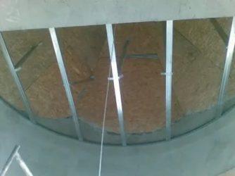 Как сделать круглый угол стены?