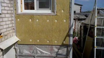 Как утеплить пристройку к дому снаружи?