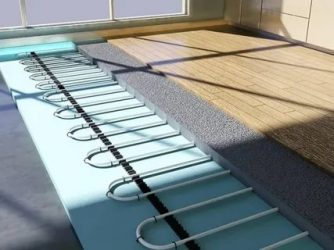 Как класть теплый пол под ламинат?