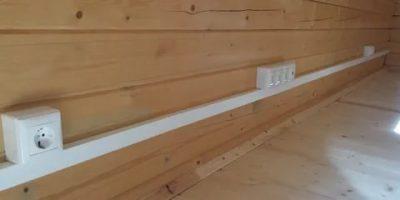 Как проложить кабель канал по стене?