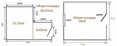 Как измерить квадратуру комнаты пола?