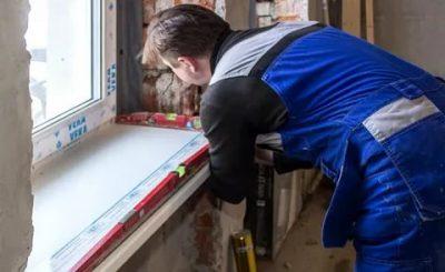Как заменить подоконник у пластикового окна самостоятельно?