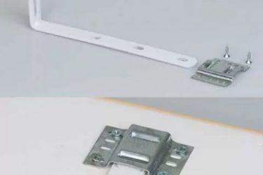 Как прикрепить потолочную гардину к стене?
